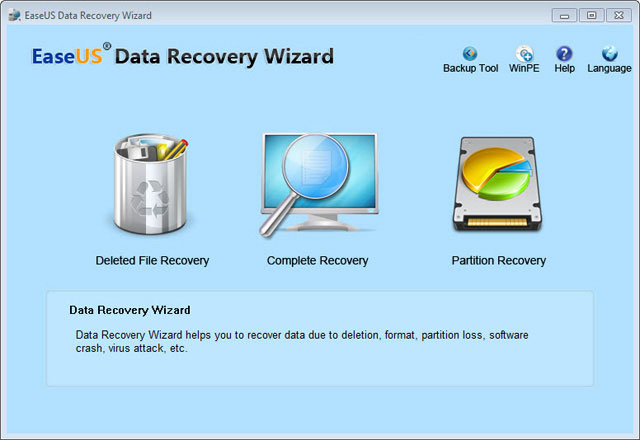 Easeus Data Recovery Wizard 5.6.5