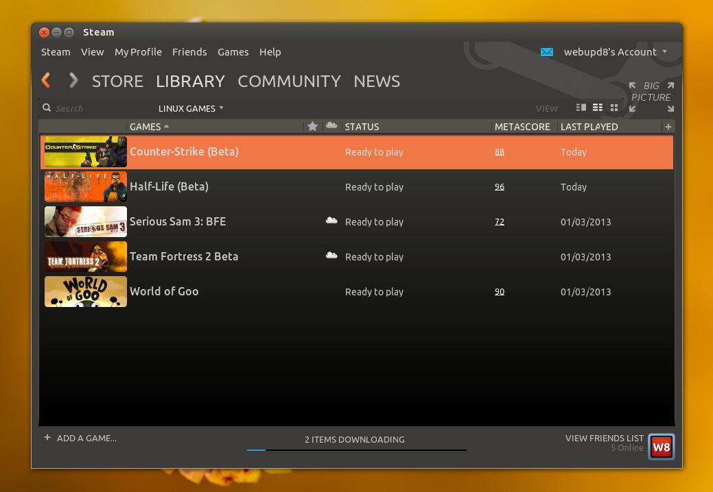 Half-live si Counter-Strike acuma disponibile pe linux