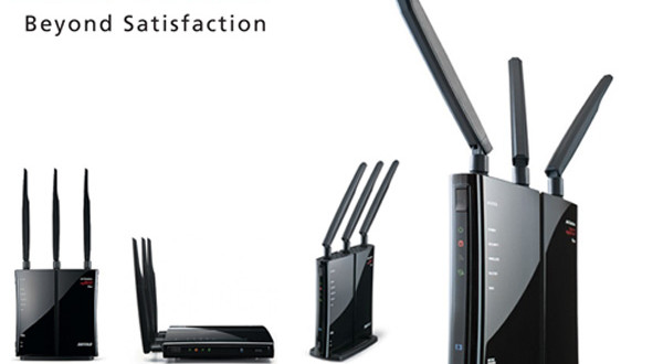 Router WiFi Buffalo-WZR-450HP-C