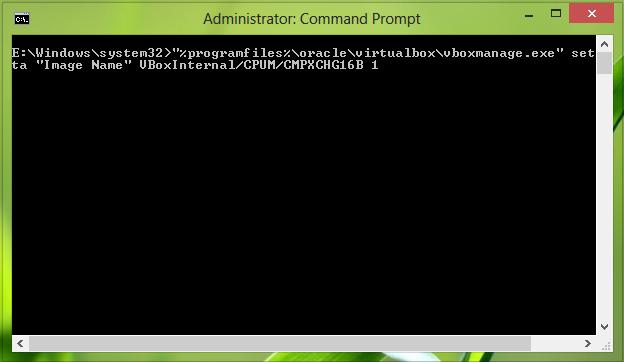 Rezolva eroarea 0x000000C4 la instalare Windows 8 pe virtual box