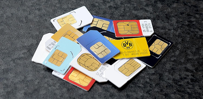 Sim-cardurile au fost sparte
