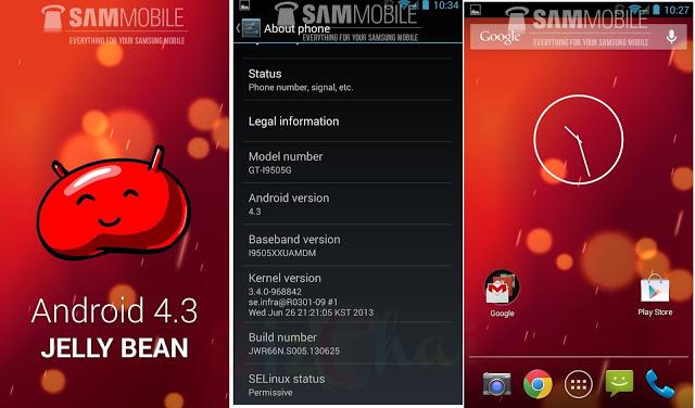 Android 4.3 oficial pentru Vodafone a fost compilat