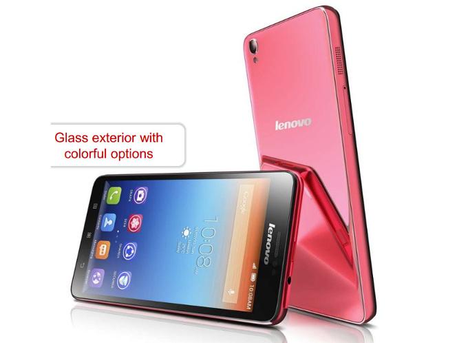 Lenovo S850 un Smartphone din Sticlă