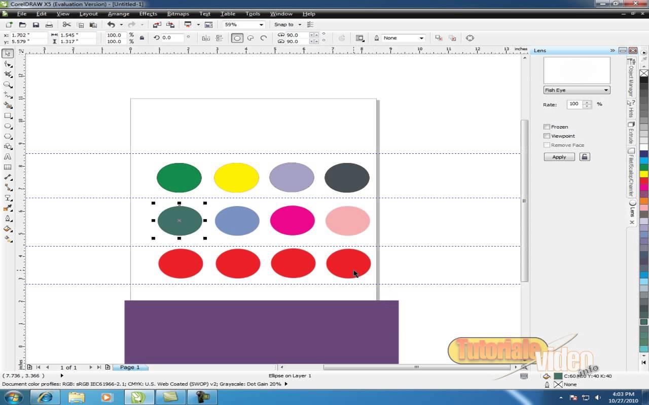 Creaza pictograme cu ajutorul Corel-Draw