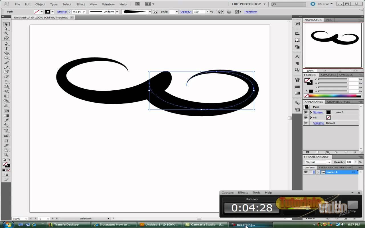 Creaza un buton cu Adobe Ilustrator