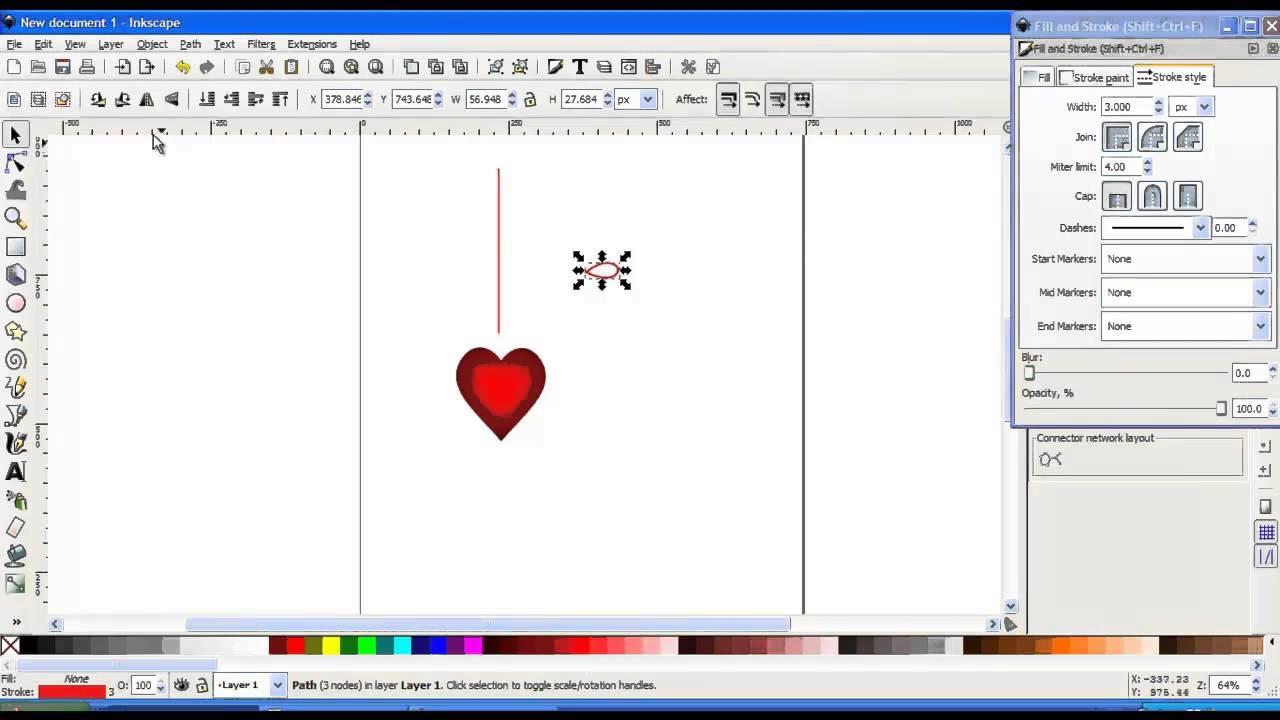 Cum faci un banner cu Inkscape