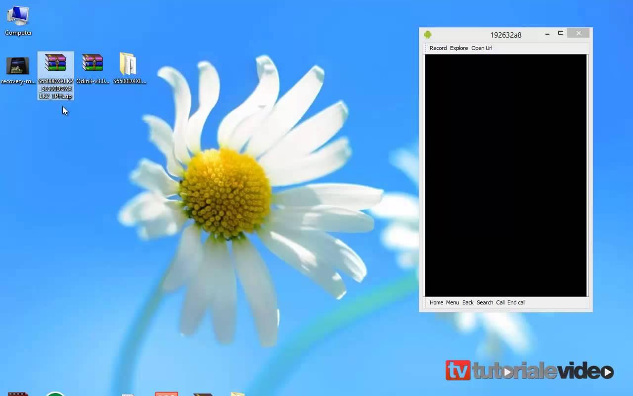 Cum instalam Romul stock cu Android 2.3.6 pe Samsung Galaxy Mini 2 GT-S6500D