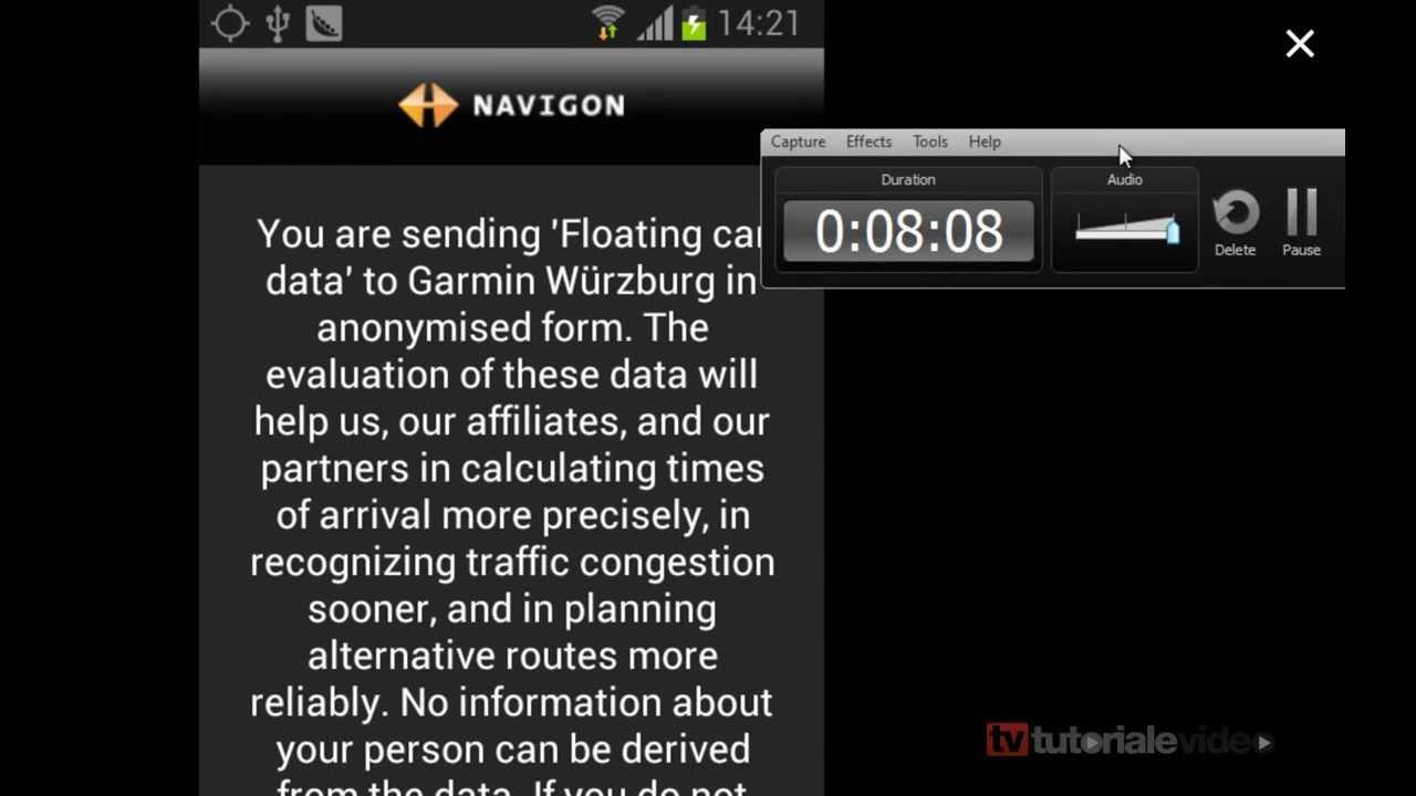 Cum se instaleaza NAVIGON pe android gratuit