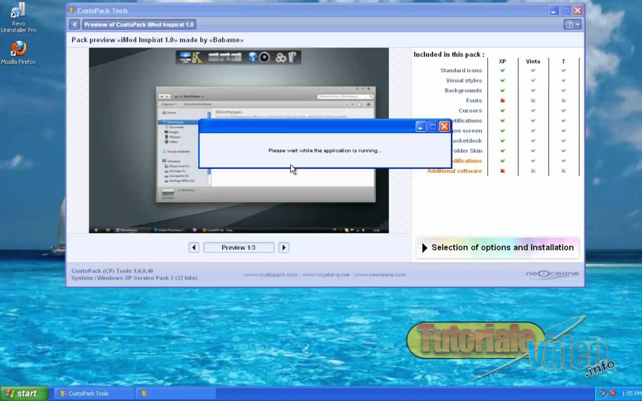 Transforma windows XP in MAC OS