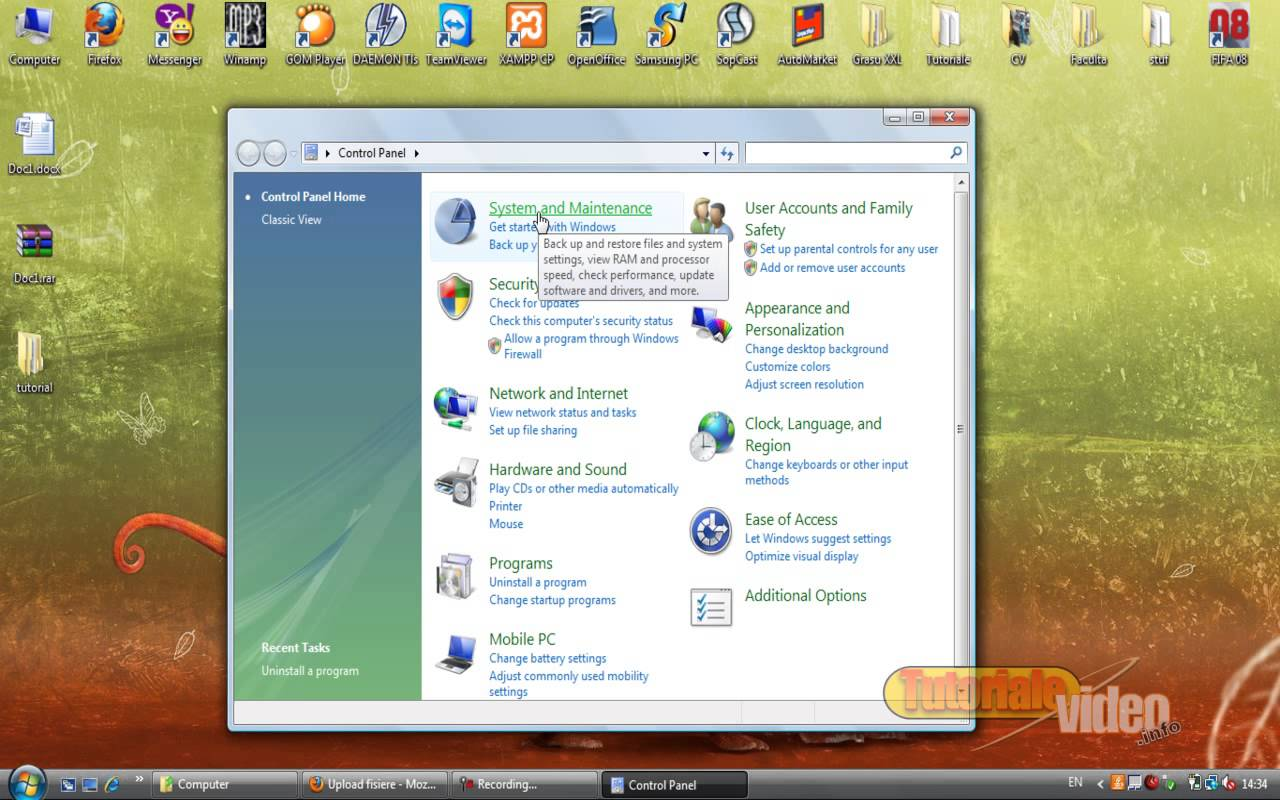 Trucuri Windows Vista