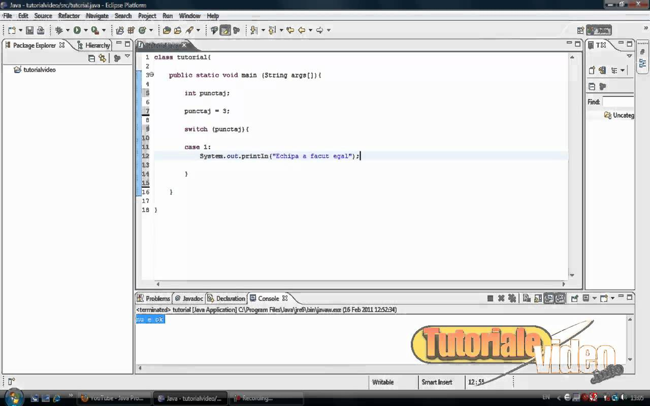 Tutorial Java nr. 12