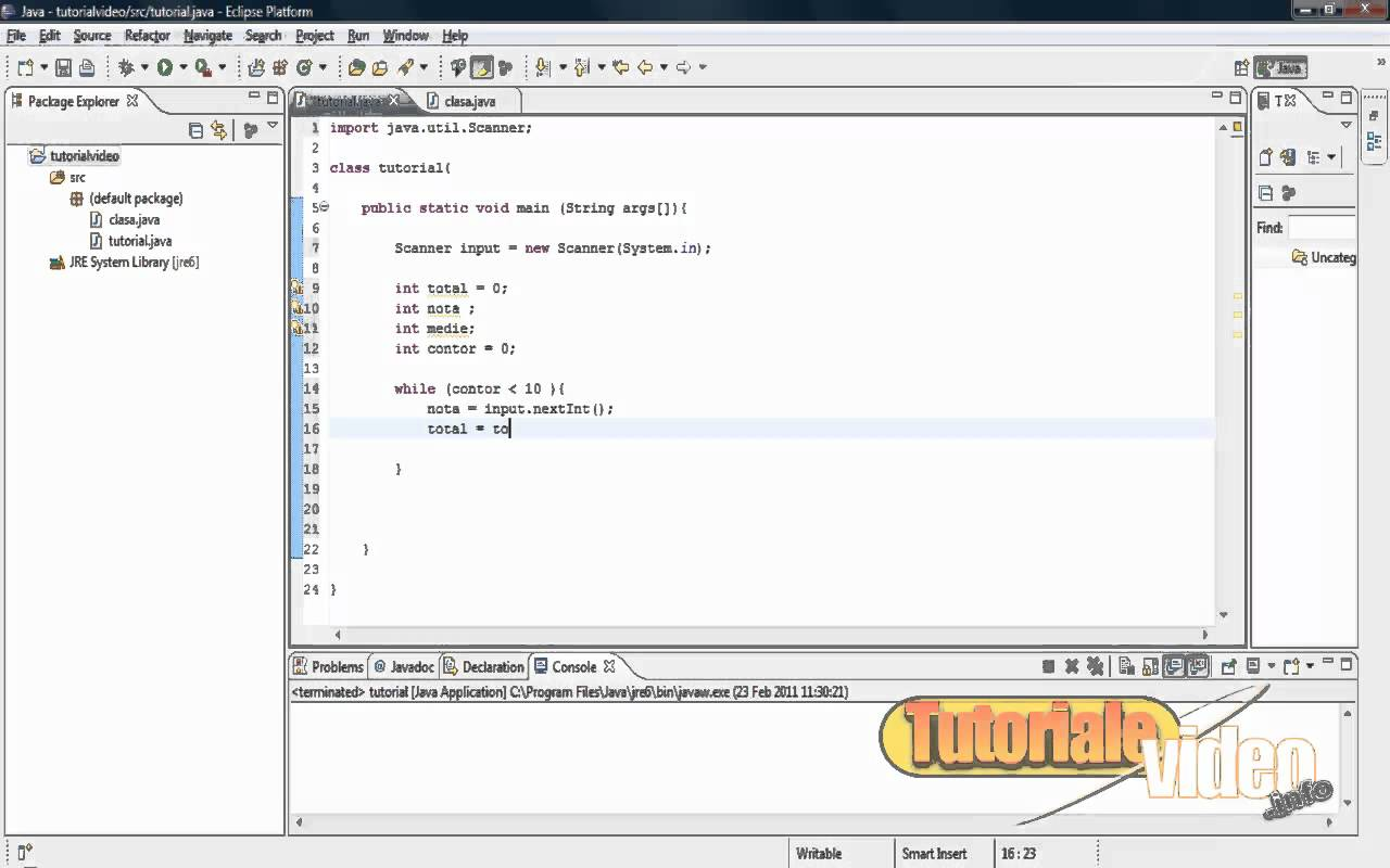 Tutorial Java nr. 19