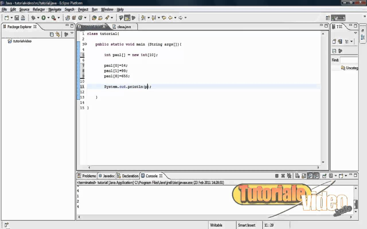 Tutorial Java nr. 23