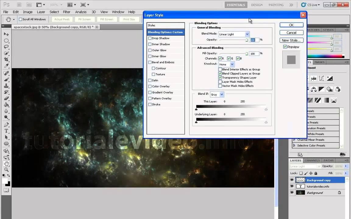 Tutorial Photoshop – cum sa aplici o textura non-distructiv