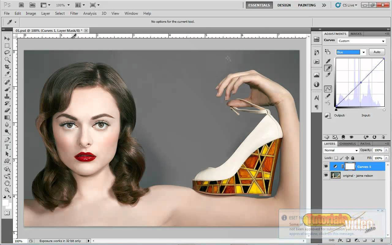 Tutorial Retusare Fashion Photoshop – Corectura culoare, basic si avansat