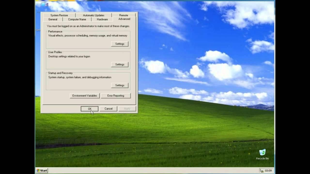 Optimizare Windows XP