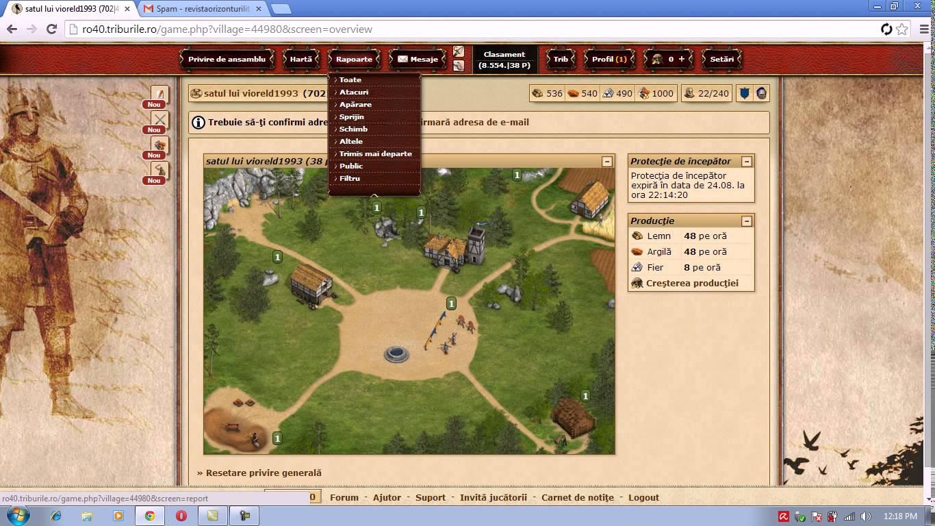 Triburile: Prezentare joc de strategie medievala