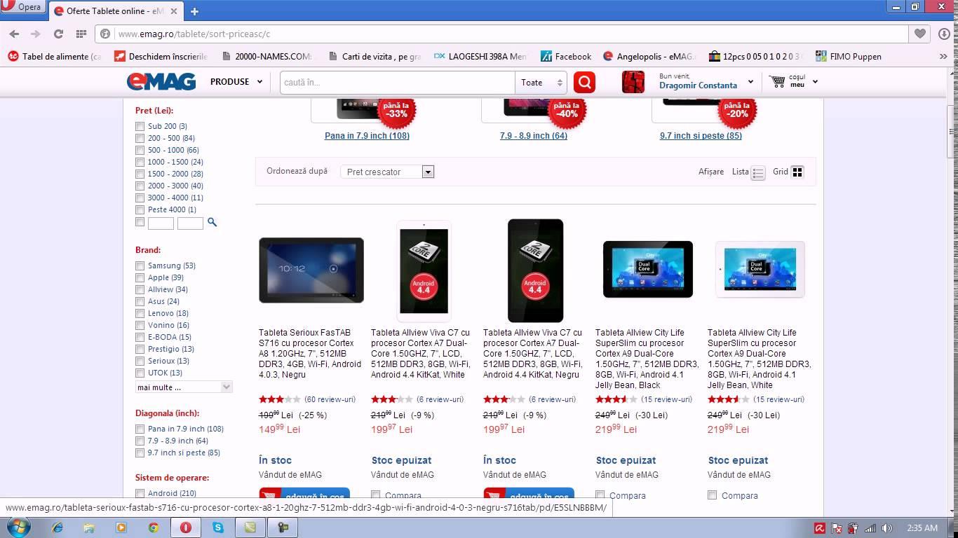 Serioux FasTab S716 – Cea mai ieftina tableta din Romania