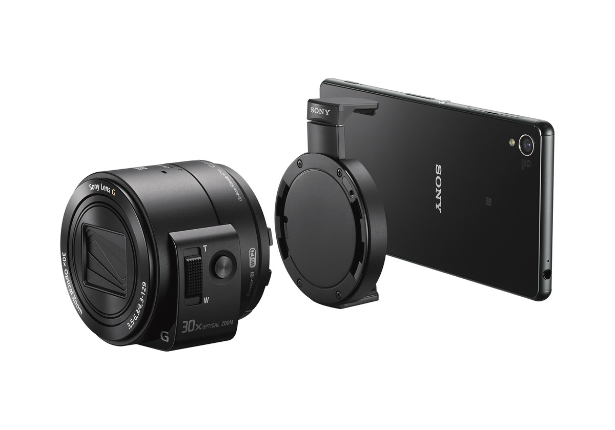 Sony extinde gama de camera foto QX  cu modele cu obiective interschimbabile