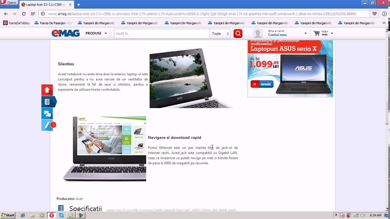 Prezentare laptop low cost cu performante bune