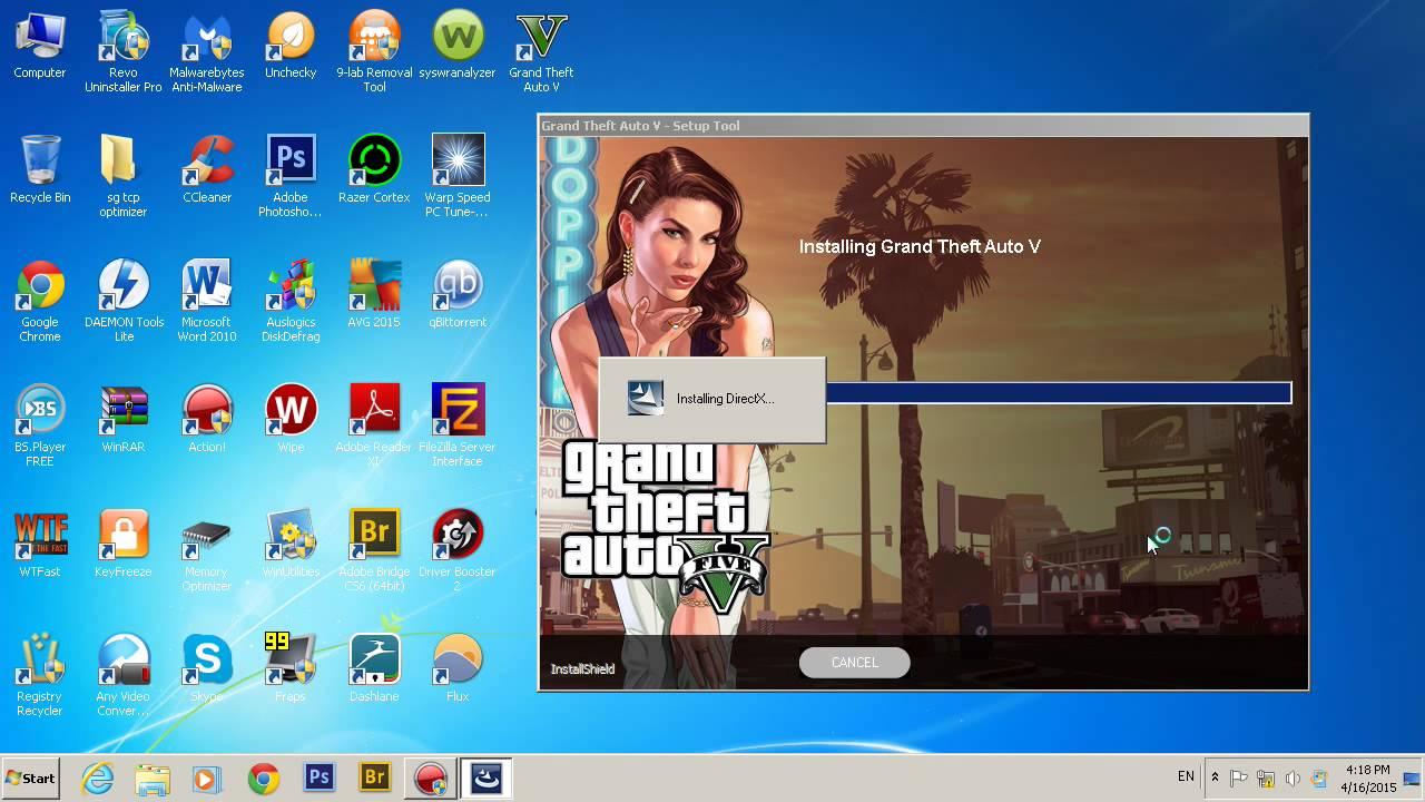 Instalarea Jocului GTA V direct de pe CD