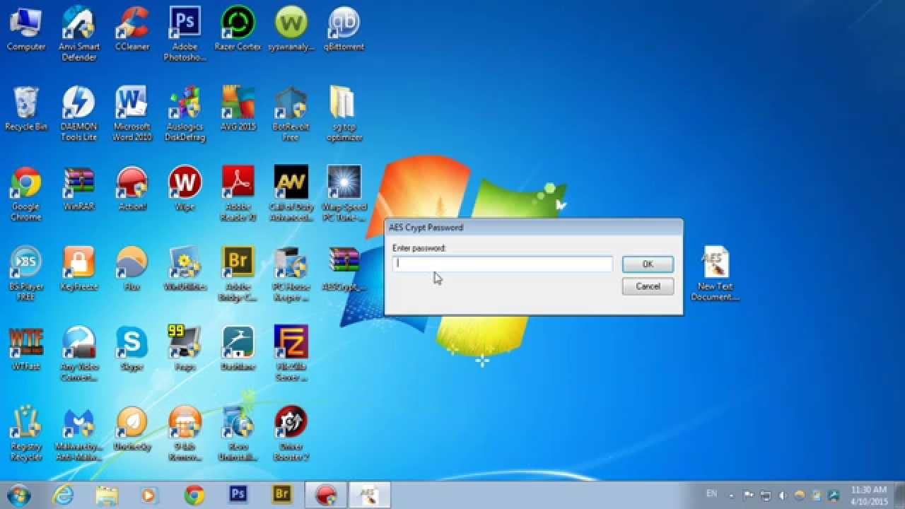 AES Crypt un program avansat dar simplu de utilizat in criptarea documentelor