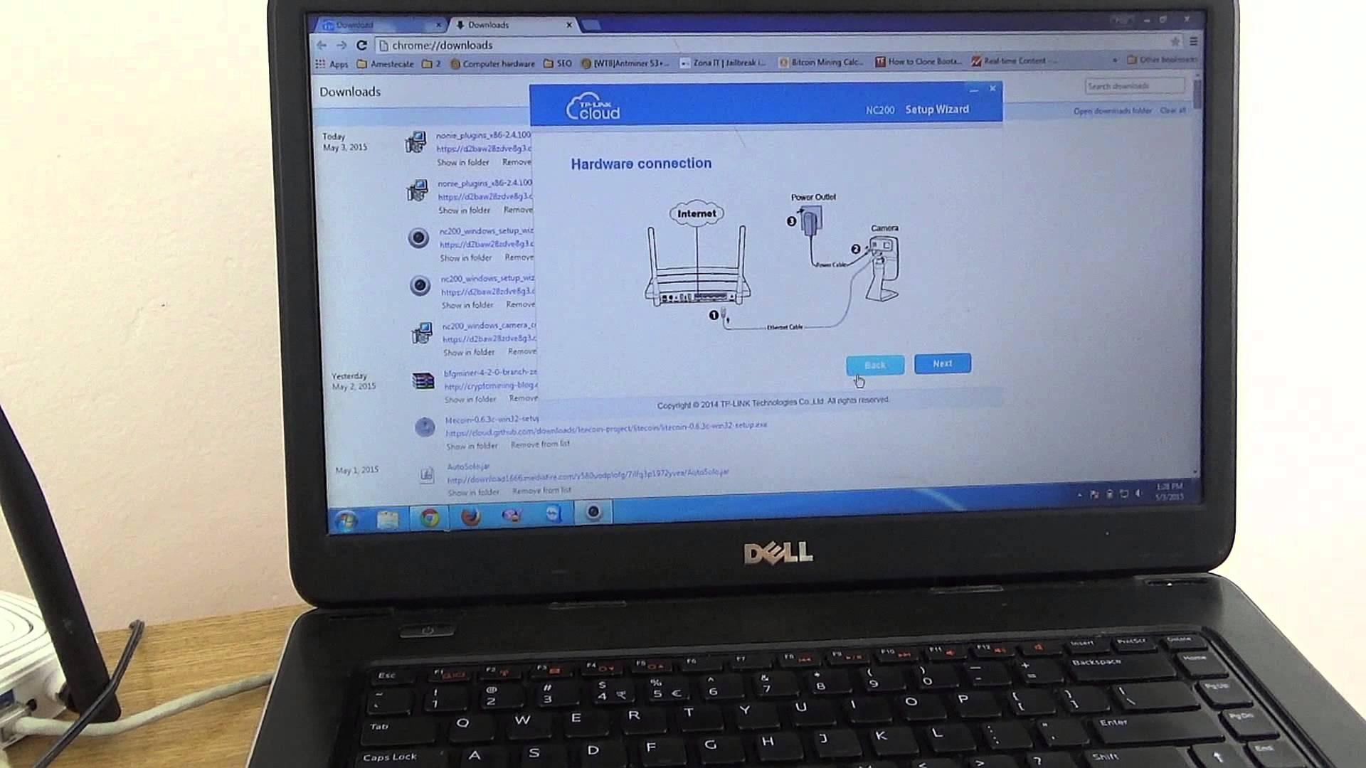 Cum se instaleaza Cloud Camera Tp-Link NC200