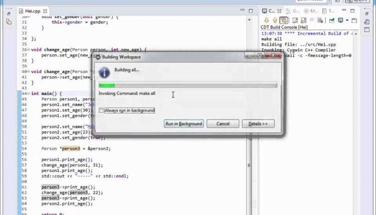 Tutoriale Video C++ despre keyword-uri din cadrul unei structuri