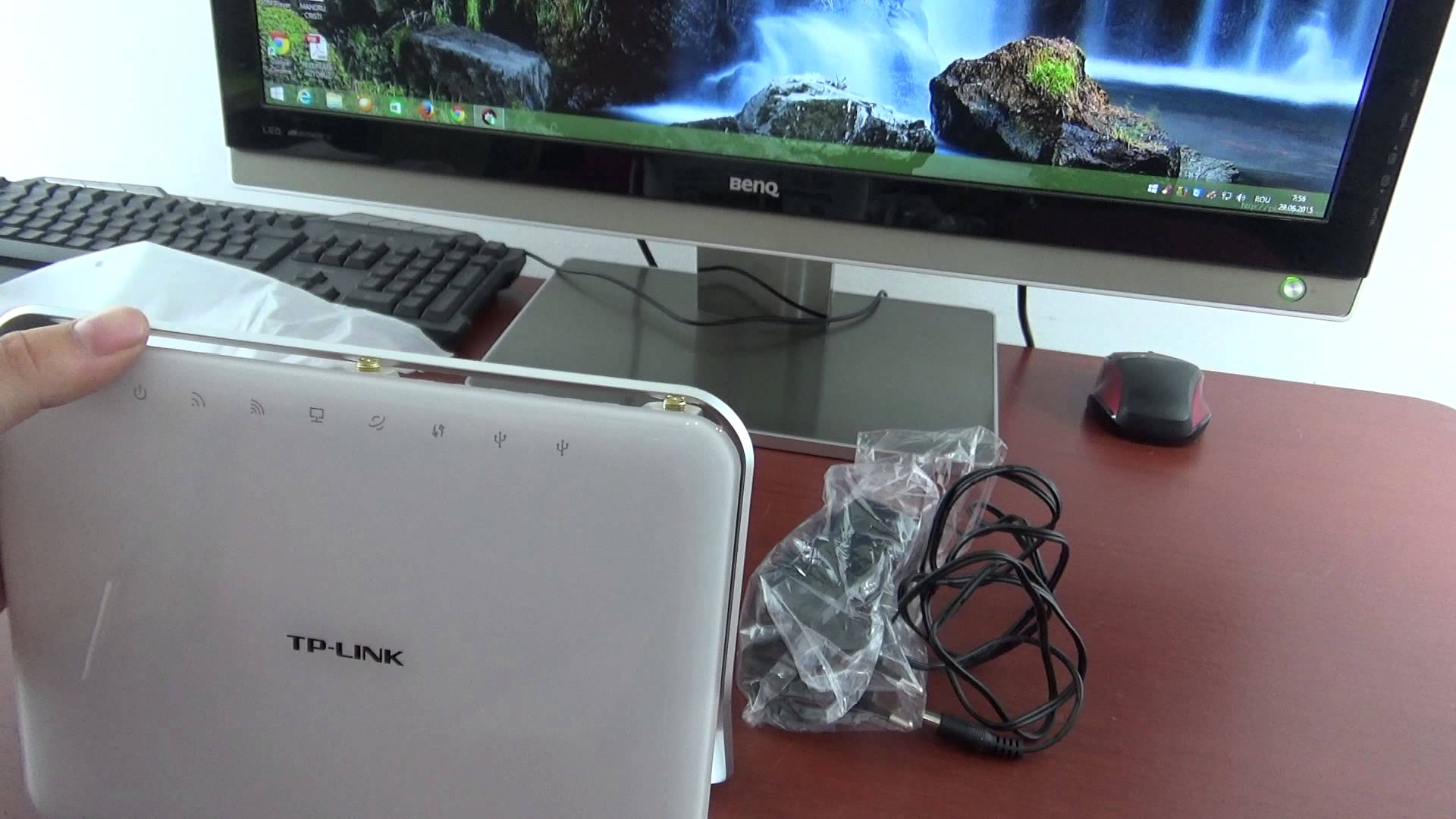 Unboxing Tp-Link AC1900 Wireless Dual band Gigabit Router