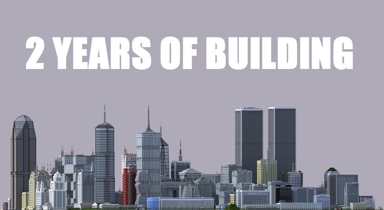 2 ani din viata! Atat a stat un student sa contruiasca un Mega oras in jocul Minecraft