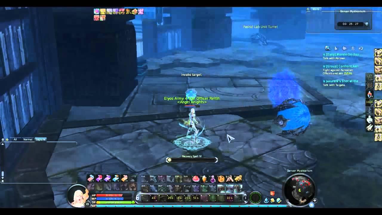 Aion 4.0 Danuar Mysticarium Gameplay (part 1)