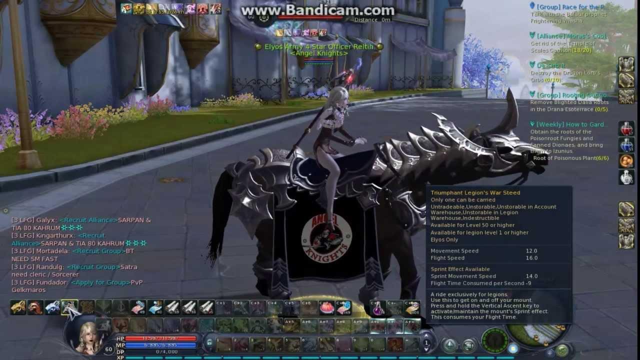 Aion Horse Mount,Aion Legion Mount/Triumphant Legion's War Steed