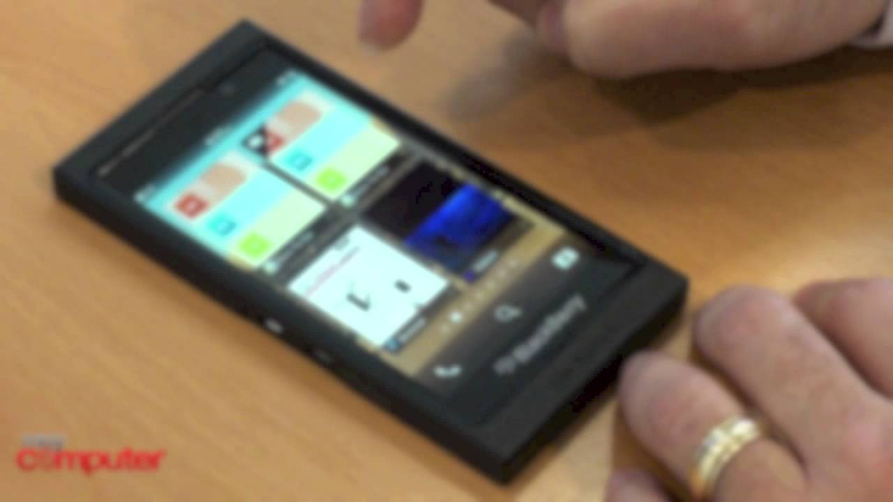 Blackberry 10 Revealed in Demo Video