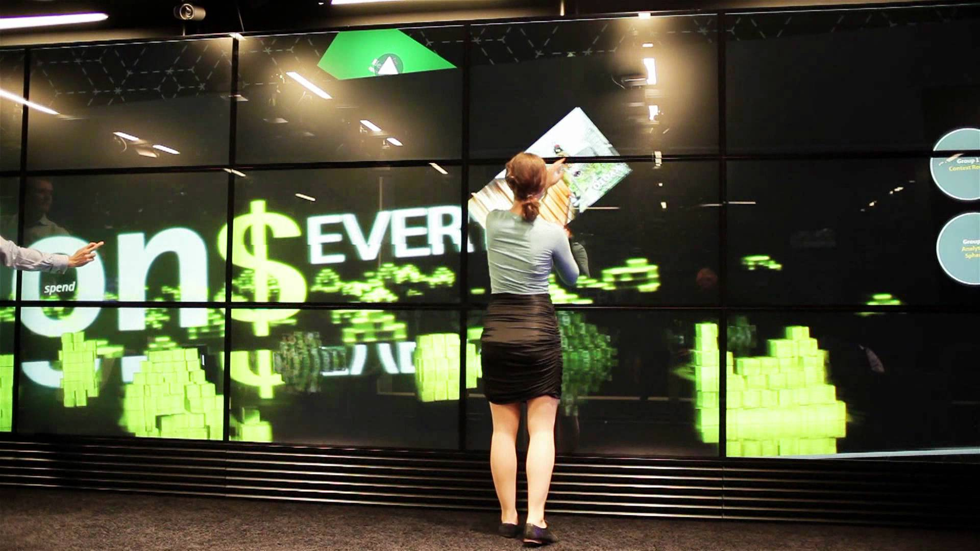 Cel mai mare ecran touch screen din lume