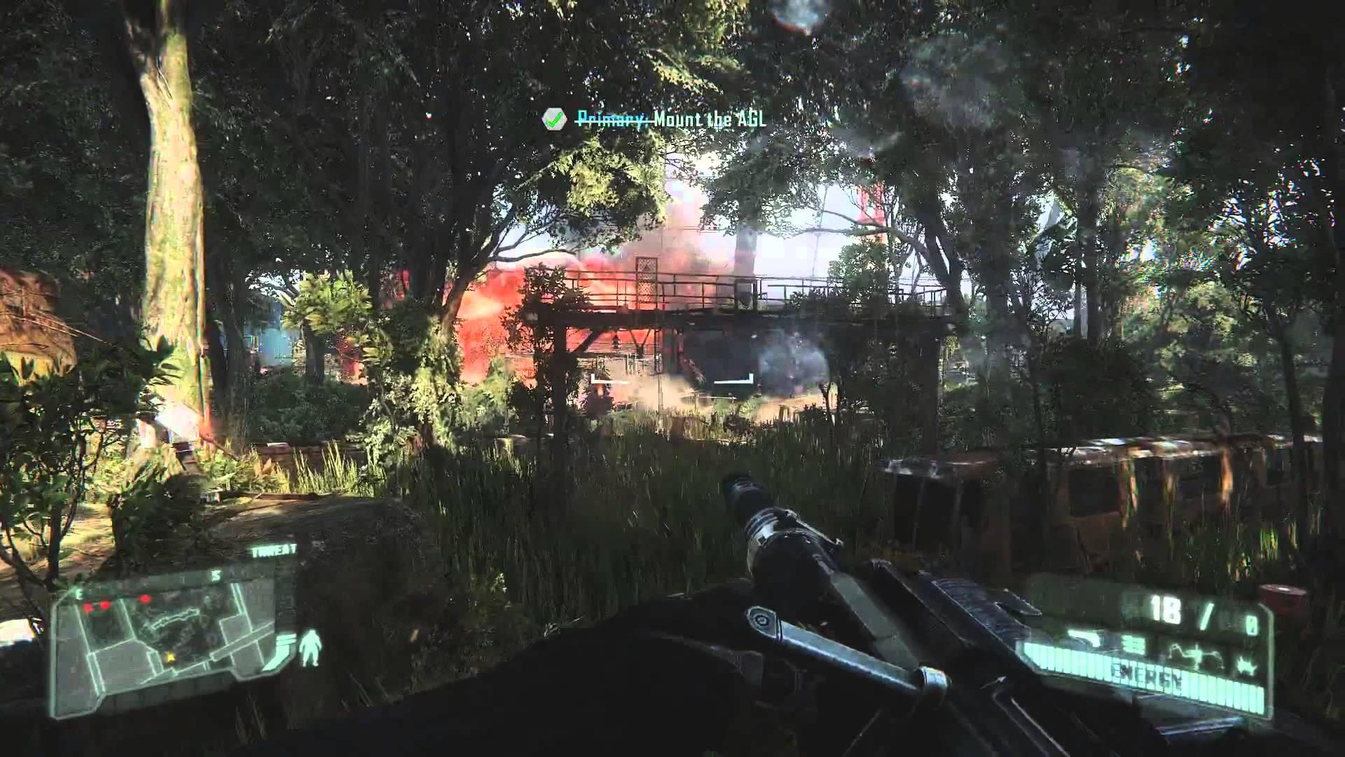 Crysis 3: The Train Yard Gameplay Trailer