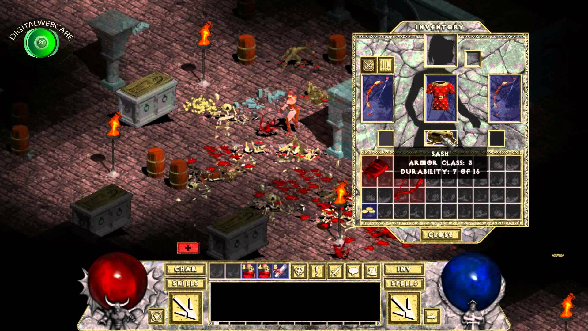 Diablo 1 HD Patch-Diablo 1 HD Gameplay-Diablo 1 High Resolution Patch