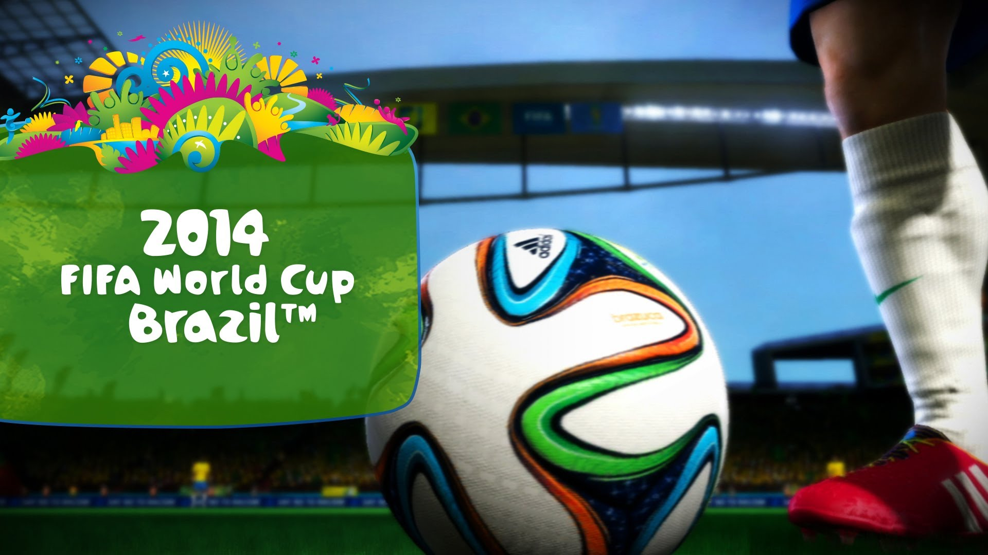 EA Anunta EA SPORTS 2014 FIFA World Cup Brazil