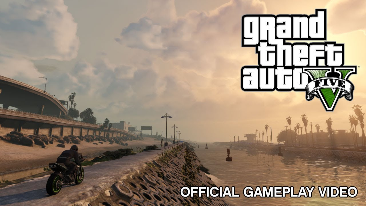 Grand Theft Auto V – Official Gameplay Video