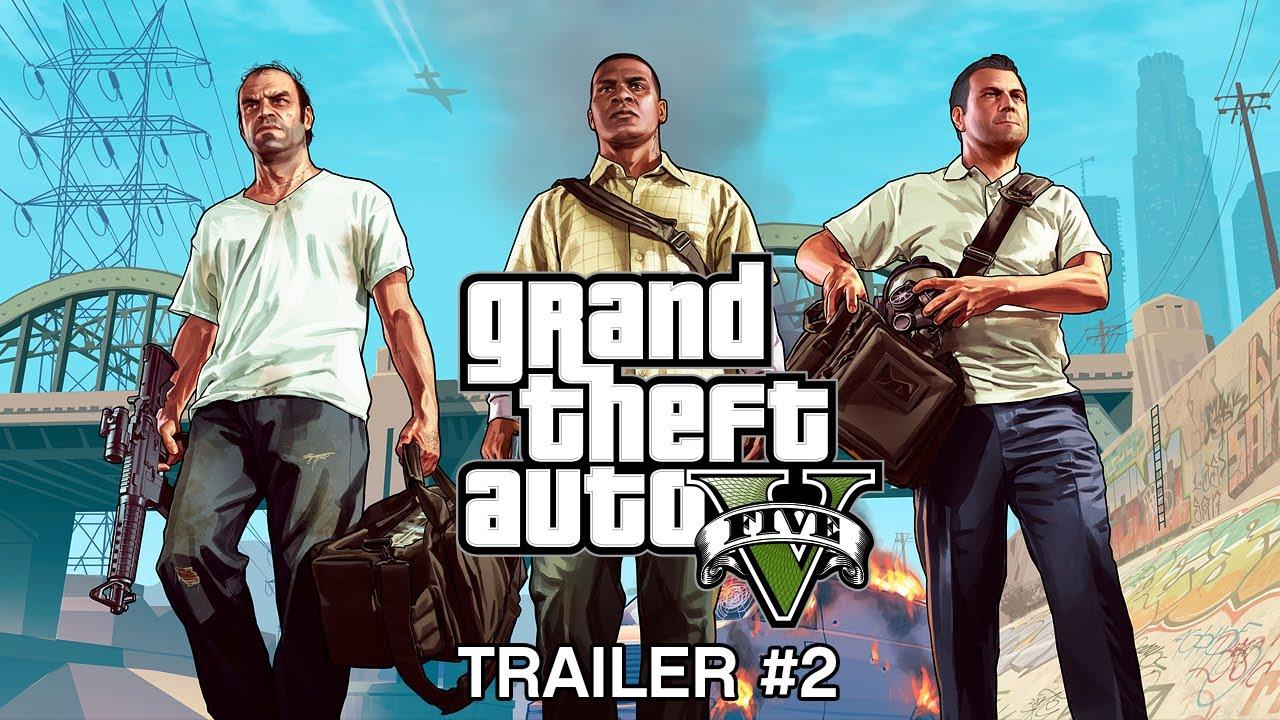 GTA V Trailer 2