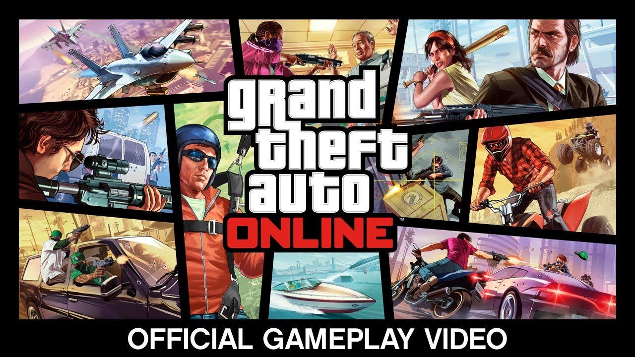 GTA V:Multiplayer Gameplay