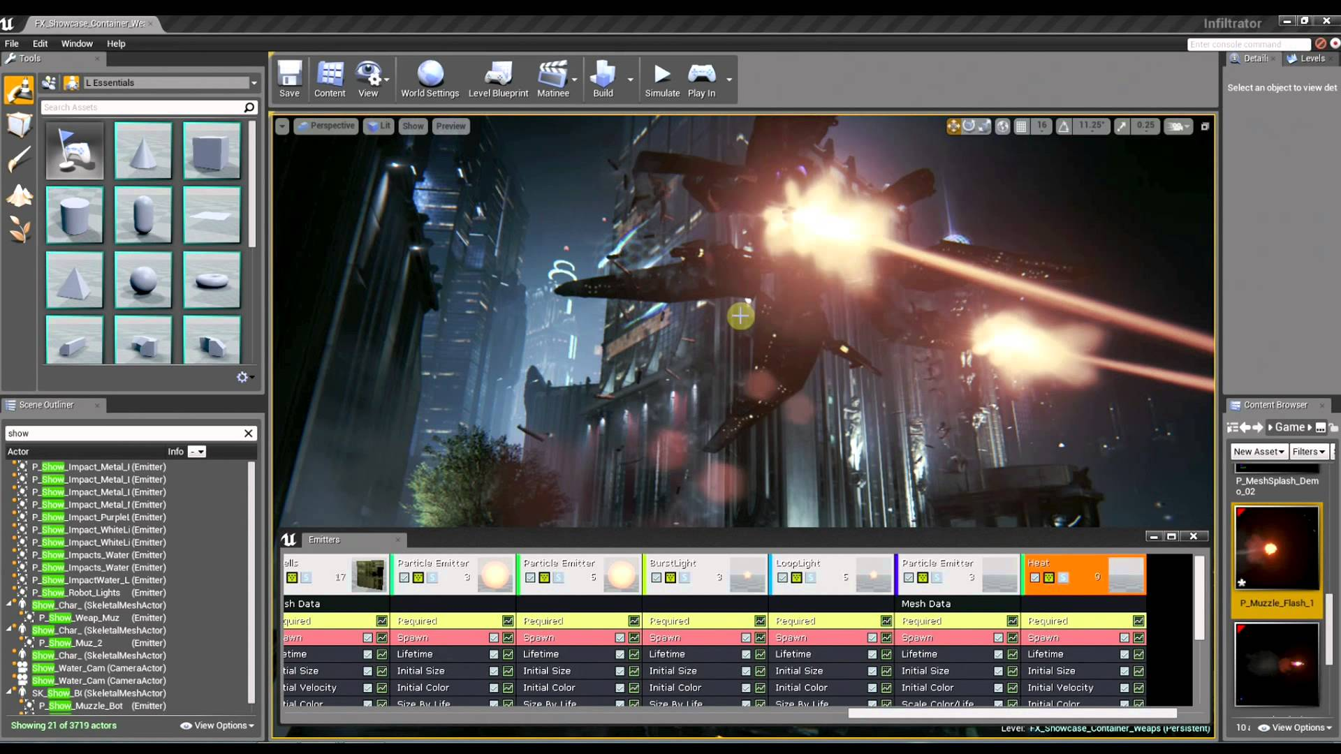 Inside Unreal Visual Effects Part #1