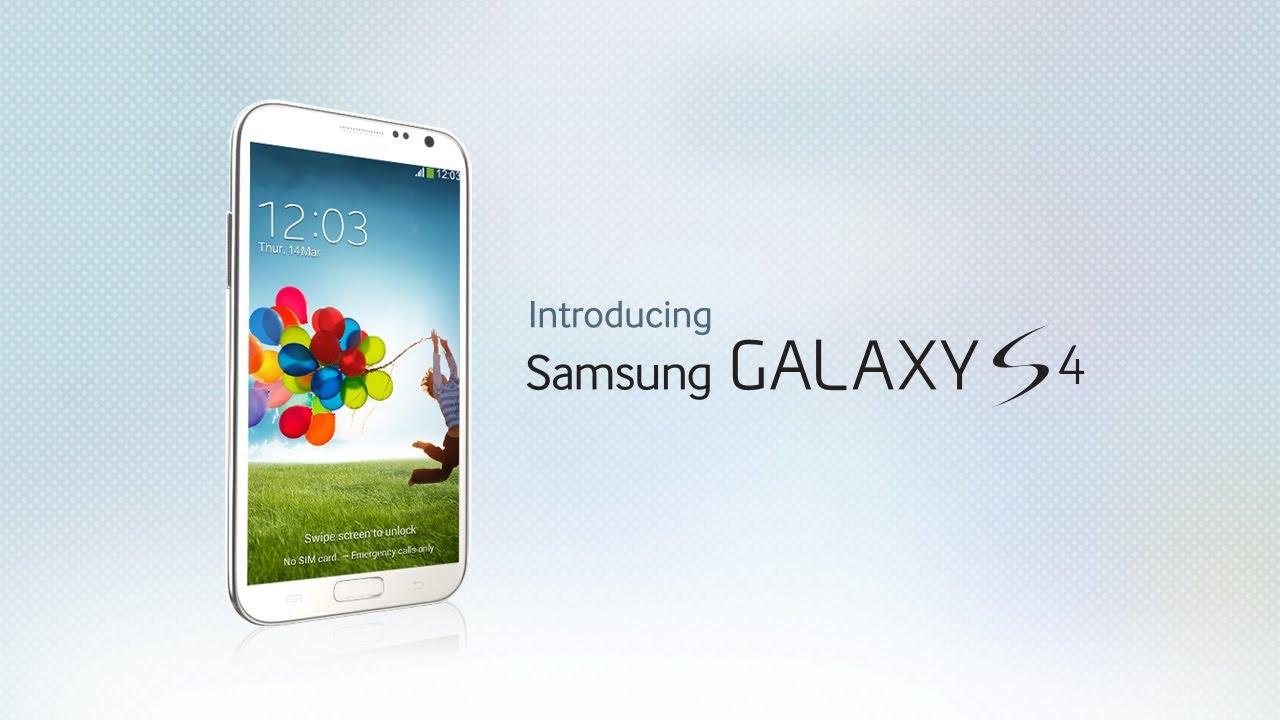 Introducerea noului Samsung GALAXY S IV,VIDEO
