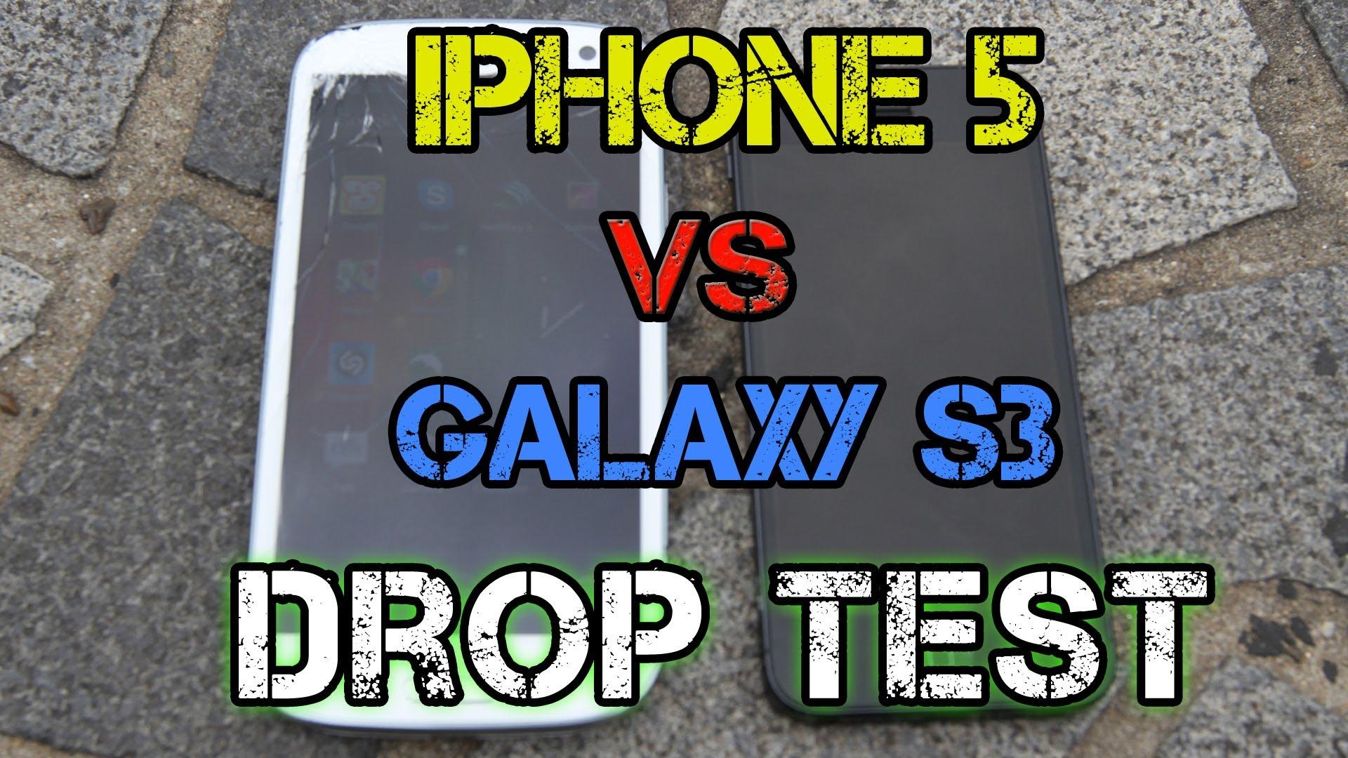 iPhone 5 Vs Samsung Galaxy S3 – Testul de rezistență