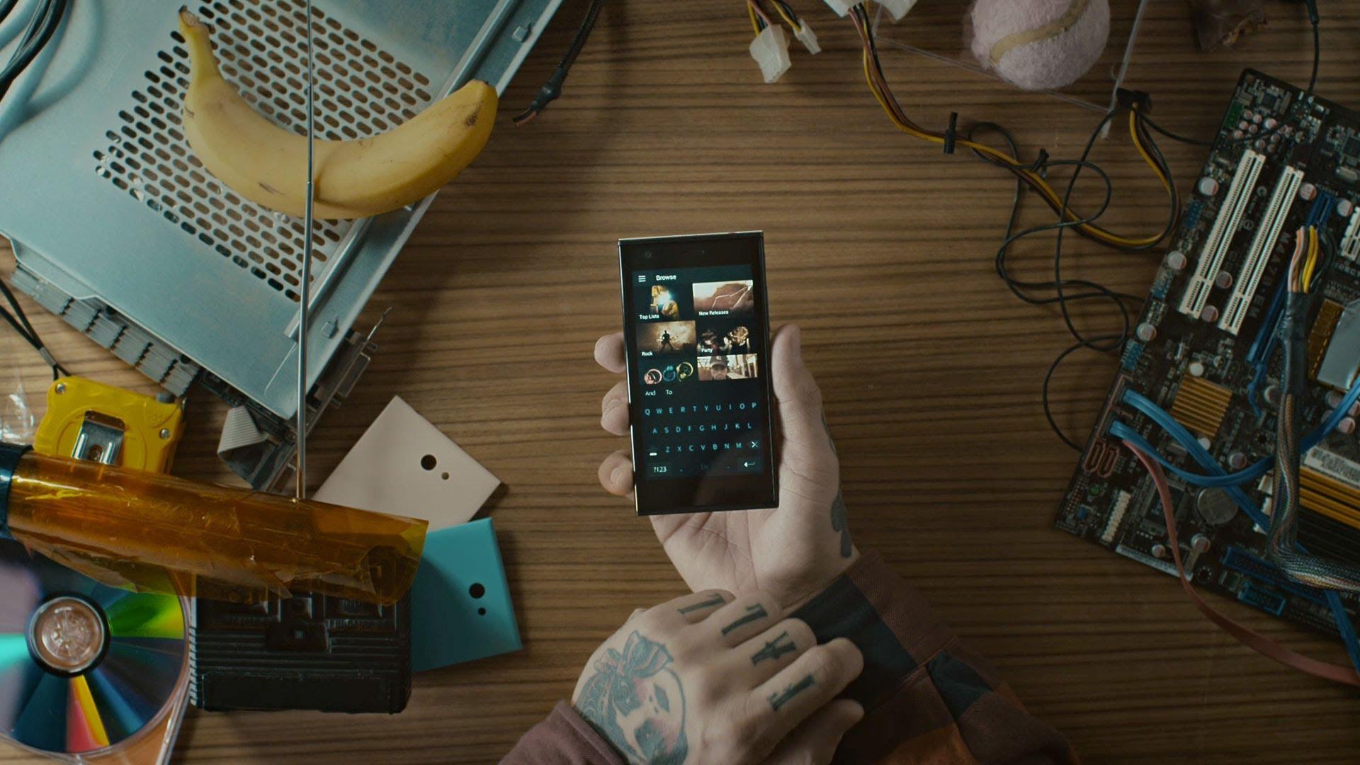 Jolla (Smartphone) Sailfish OS