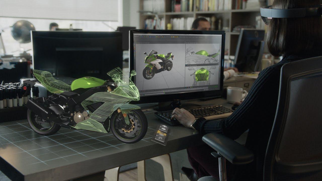 Microsoft HoloLens, ochelarii care proiectează imagini holografice (VIDEO)