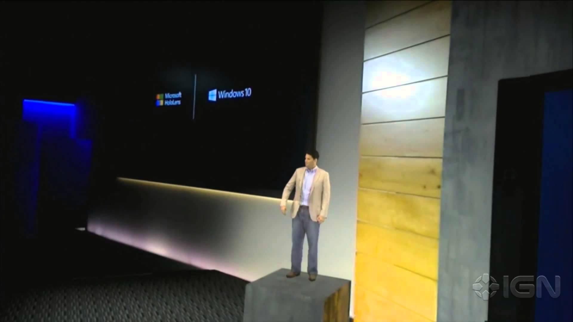 Microsoft HoloLens un nou mod de a privi lumea(VIDEO)