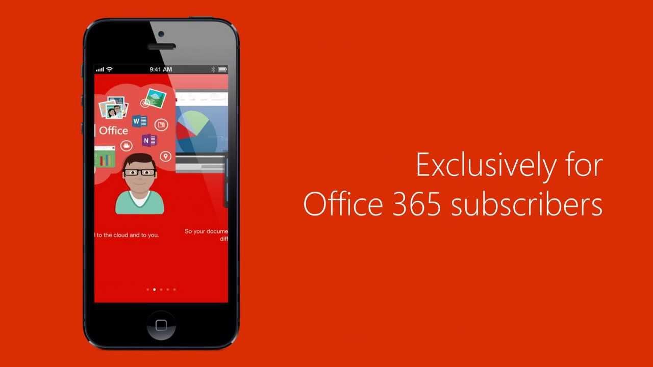 Microsoft lansează Office Mobile pentru iOS