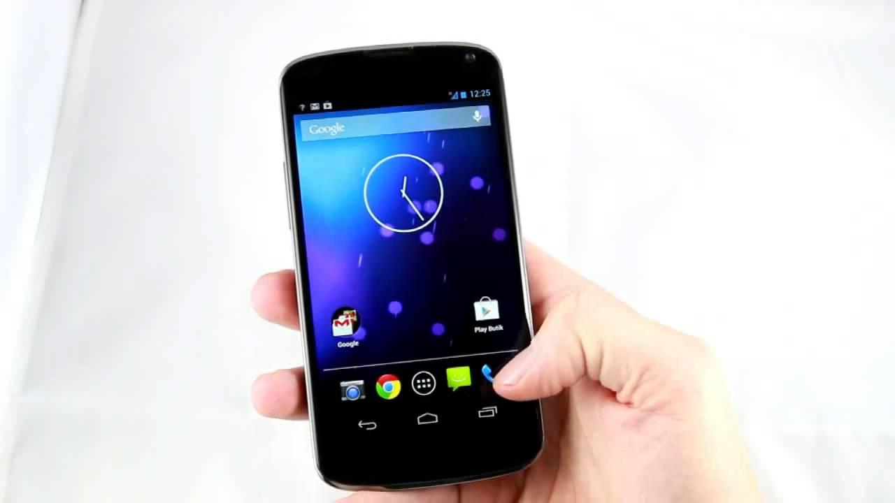 Primul Video Cu LG Nexus 4