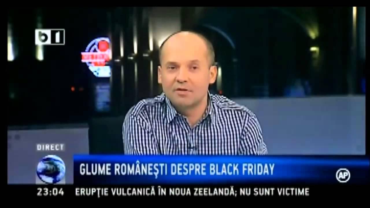 Radu Banciu despre Black Friday-ul Romanesc