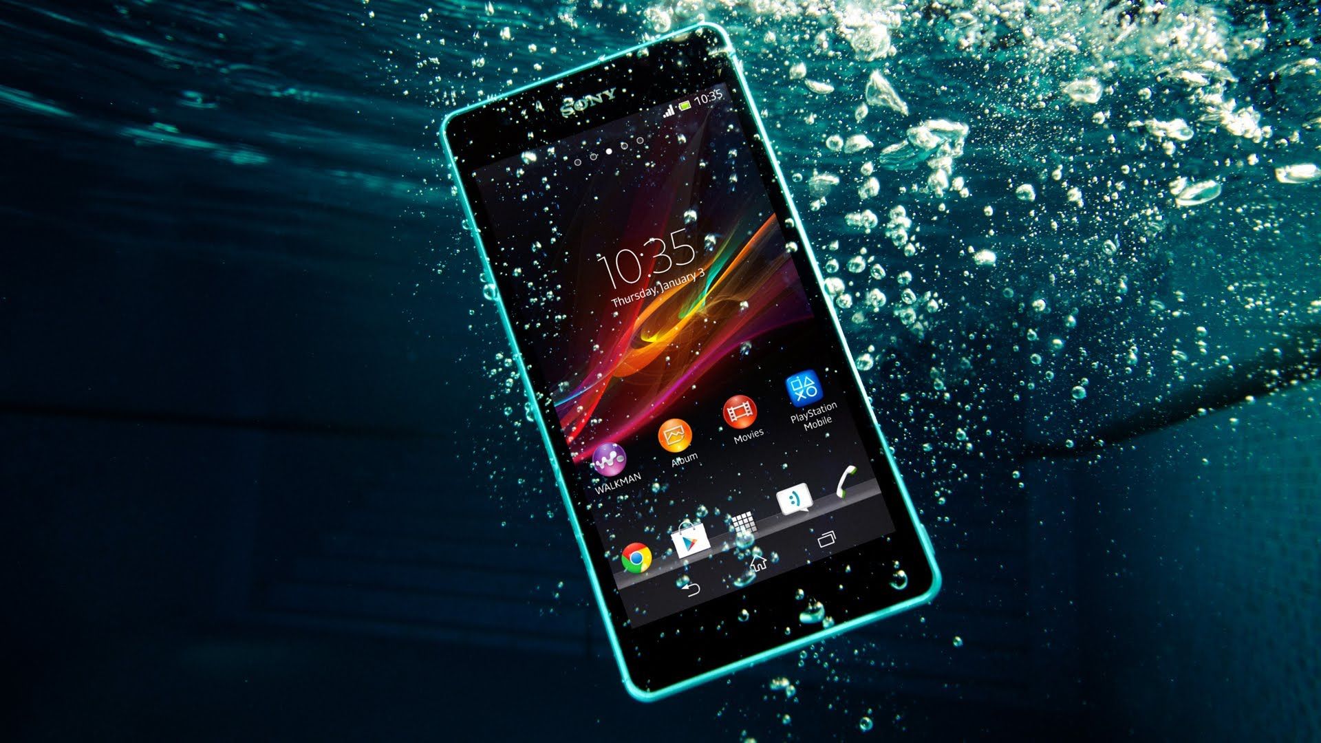 Sony lansează Xperia ZR-Un Telefon impermeabil